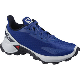 Salomon Alphacross Blast Buty Dzieci, surf the web/navy blazer/pearl blue